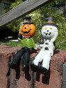 ハロウィン かぼちゃ パンプキン オーナメント【花遊び】『足...