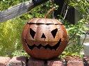 ハロウィン かぼちゃ パンプキン オーナメント【花遊び】『ハロウィン!アイアンかぼ