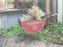 ガーデニング ガーデン 雑貨 三輪車 アンティーク【NEW】『アンティーク風♪セミサークル カート』