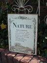 プレート アイアン ローズ ウエルカム壁掛け 雑貨 ガーデニング ガーデン【花遊び】『Nature』