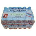 マウントシャスタ水源のアメリカを代表するミネラルウォーター。【水】【ミネラルウォーター】 クリスタルガイザー 500ml PET 48本入 【送料無料】