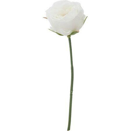 即日 【造花】YDM/ミニガーデンローズピック ホワイト/FA7011-W《 造花(アーティフィシャルフラワー) 造花 花材「は行」 バラ 》