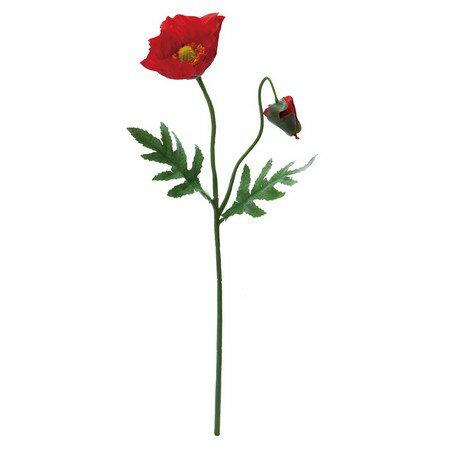 大特価◎【造花】YDM/ポピー レッド/FF2864-R【01】【取寄】《 造花(アーティフィシャルフラワー) 造花 花材「は行」 ポピー 》