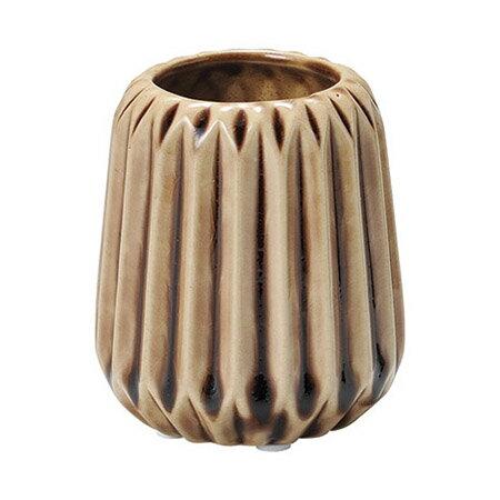 paseo/切子柄風コンポート/DF-57BR【01】【01】【取寄】[6個]《 花器、リース 花器・花瓶 陶器花器 》