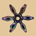 NBK/フラワービーズ 7mm DX 200個/ASH-FL7-10《 手芸用品 アクセサリー ビーズ 》