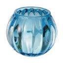 ペガサスキャンドル/キャンドルグラス「スクワッシュ」(ブルー)/08517605【01】【取寄】[6個]《キャンドル キャンドルホルダー・スタンド ホルダー》