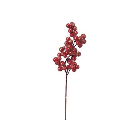 【造花】アスカ/ベリーピック #002G レッドゴ−ルド/A-74361【01】【01】【取寄】《 造花(アーティフィシャルフラワー) 造花実物、フェイクフルーツ ベリー 》