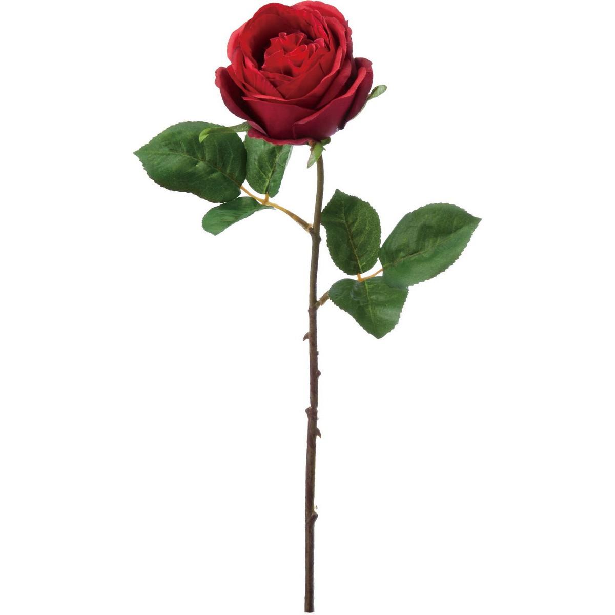 【造花】YDM/オールドローズ レッド/FA-7165-R【01】【取寄】《 造花(アーティフィシャルフラワー) 造花 花材「は行」 バラ 》