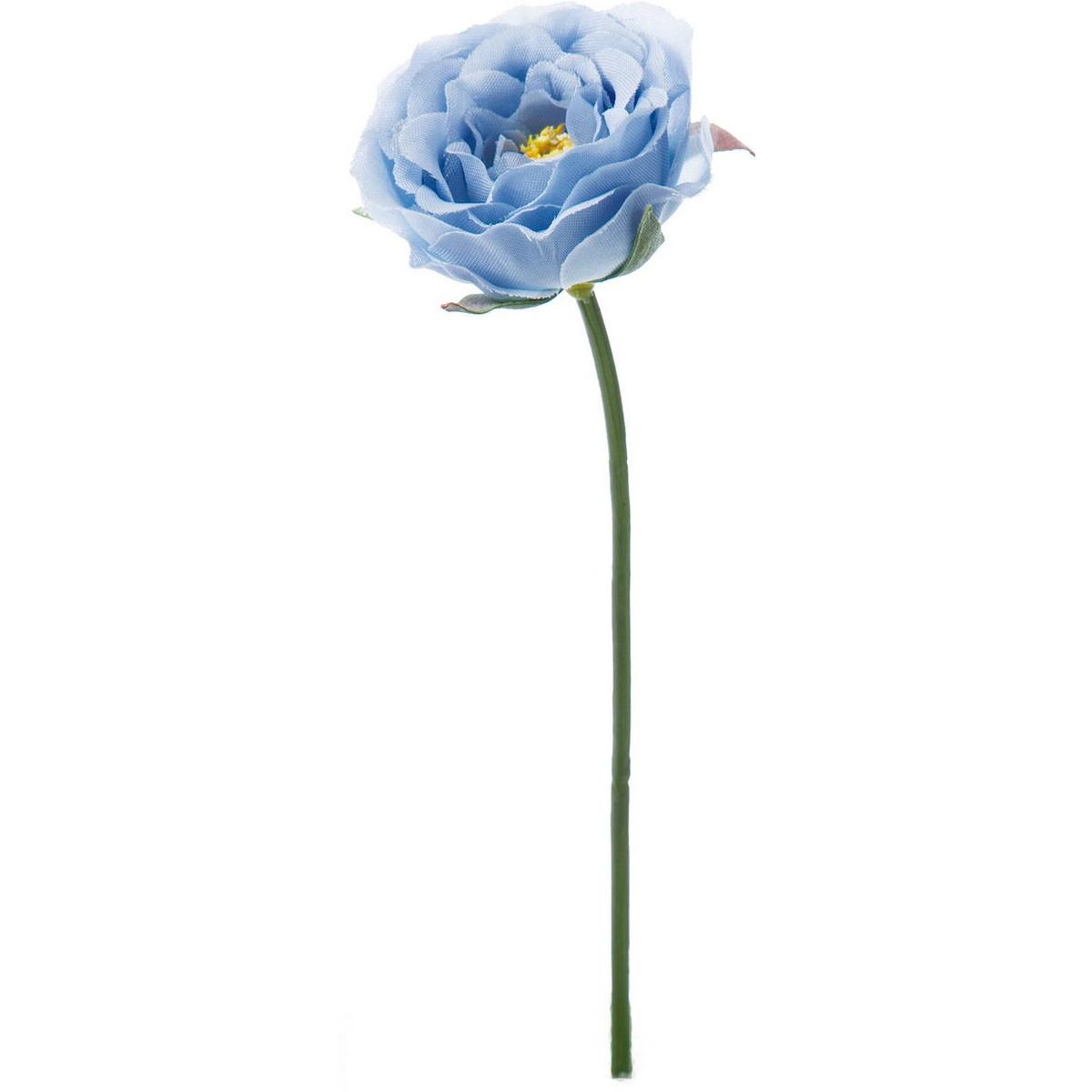 【造花】YDM/ミニガーデンローズピック ブルー/FA-7011-BLU【01】【取寄】《 造花(アーティフィシャルフラワー) 造花 花材「は行」 バラ 》