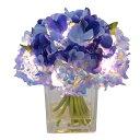 Gracias/LEDフラワー アジサイ K-103/100103《 造花(アーティフィシャルフラワー) 造花 花材「あ行」 あじさい(紫陽花) 》