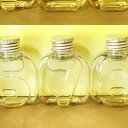 即日 NAMEW(ネイミュー)/イニシャルハーバリウム用 アルファベットPETボトル・ミニ 数字≪7≫ 97ml《ハーバリウム 瓶・ボトル PETボトル》