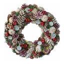 彩か/White Pine & Apple Wreath L/CGX-322L【01】【取寄】