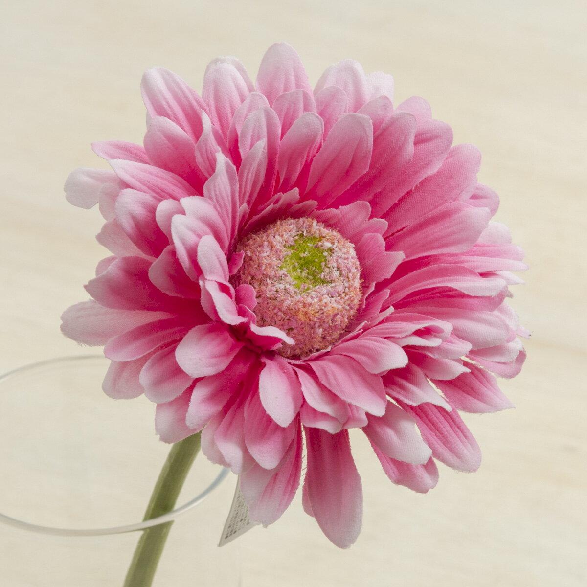 即日★【造花】YDM/ガーベラ ピンク/FF2854-P【00】《 造花(アーティフィシャルフラワー) 造花 花材「か行」 ガーベラ 》