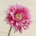 即日★【造花】ガーベラ ピンク/FF2854-P【00】《 造花(アーティフィシャルフラワー) 造花