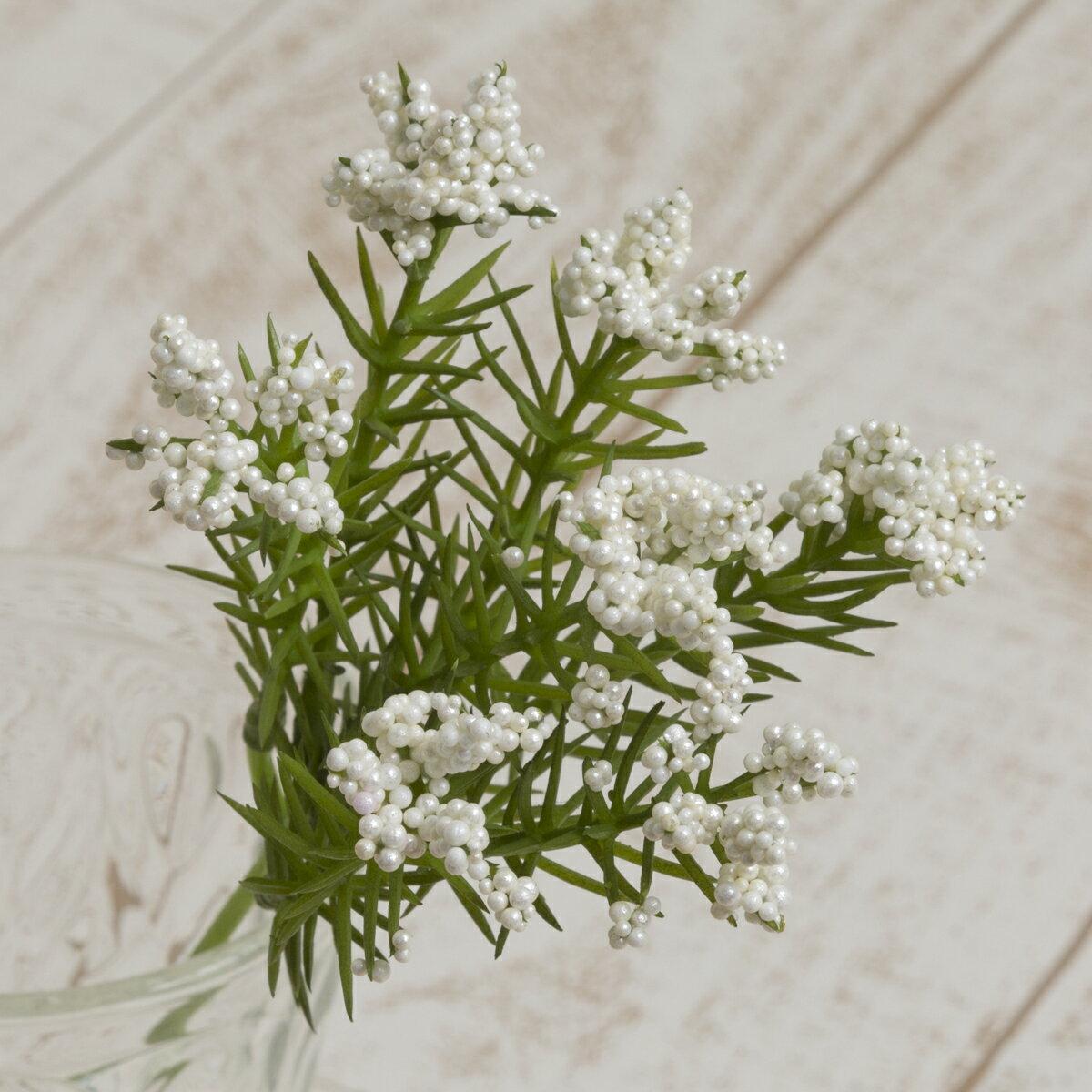 即日 【造花】YDM/ライスフラワーピック クリーム/FG4619-CR《造花(アーティフィシャルフラワー) 造花 「ら行」 ライスフラワー》