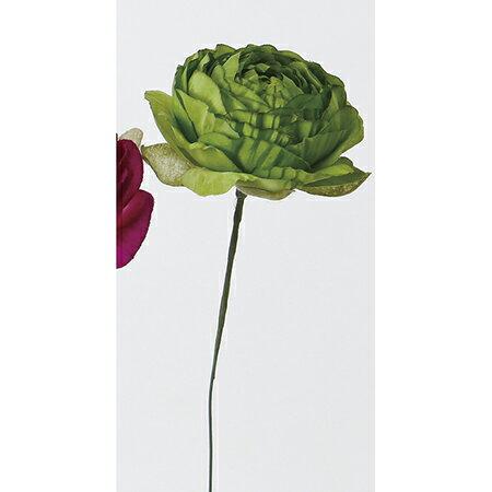 即日★【造花】アスカ/A-32444 ラナンキュラスピック #051A グリ−ン/A-32444-051A【00】《 造花(アーティフィシャルフラワー) 造花 花材「ら行」 ラナンキュラス 》