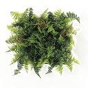 【造花】アスカ/ミックスファーンマット グリーン/A-41725-51A【02】《 造花 グリーン グリーン2 ガーランド・マット 》