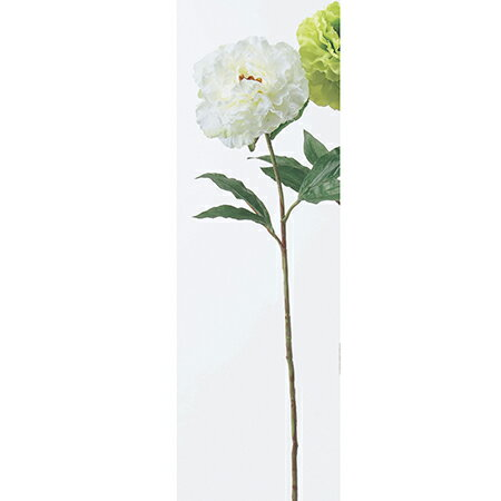 【造花】アスカ/ピオニー クリームホワイト/A-39470-11【01】|芍薬・牡丹【01】【取寄】《 造花(アーティフィシャルフラワー) 造花 花材「さ行」 シャクヤク(芍薬)・ボタン(牡丹)・ピオニー 》