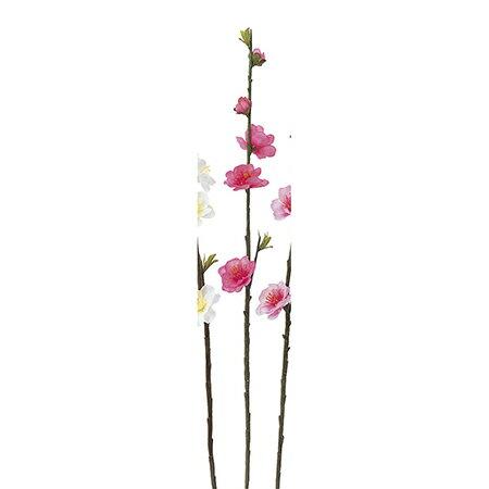 即日★【造花】アスカ/桃ピック ホットピンク/A-03849-23H【00】《 造花(アーティフィシャルフラワー) 造花 花材「ま行」 モモ(桃) 》