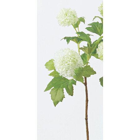 即日★【造花】アスカ/スノーボールスプレー×2 ホワイト/A-31638-1【00】《 造花(アーティフィシャルフラワー) 造花 花材「さ行」 スノーボール 》