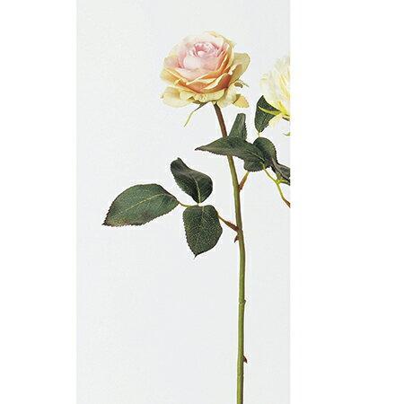 【造花】アスカ/ローズ ピンクグリーン/A-31828-3G|造花 バラ【01】【01】【取寄】《 造花(アーティフィシャルフラワー) 造花 花材「は行」 バラ 》