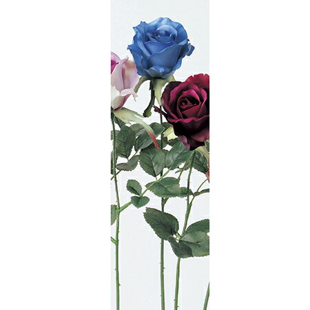 即日★【造花】アスカ/アリスローズ ブルー/A-31300-9 造花 バラ【00】《 造花(アーティフィシャルフラワー) 造花 花材「は行」 バラ 》