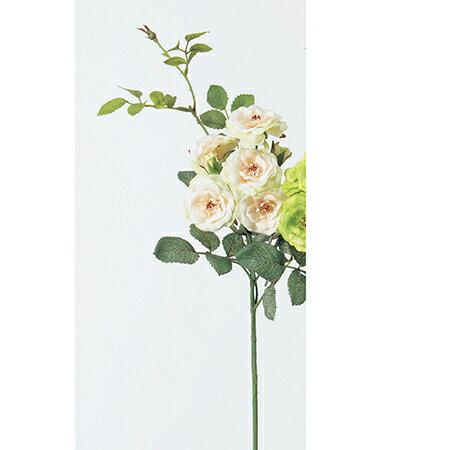 【造花】アスカ/ローズピック×5 つぼみ×2 ピンクグリーン/A-31917-3G|造花 バラ【01】【取寄】《 造花(アーティフィシャルフラワー) 造花 花材「は行」 バラ 》