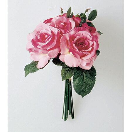 【造花】アスカ/ローズブーケ ローズ/A-31305-5 造花 バラ【01】【取寄】《 造花(アーティフィシャルフラワー) 造花 花材「は行」 バラ 》