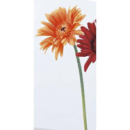 即日★【造花】アスカ/ガーベラピック(L) オレンジ/A-36105-30【00】《 造花(アーティフィシャルフラワー) 造花 花材「か行」 ガーベラ 》