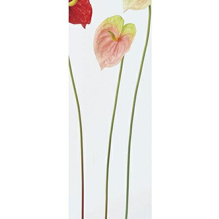 即日★【造花】アスカ/アンスリウム(L) ピンクグリーン/A-31612-3G【00】《 造花(アーティフィシャルフラワー) 造花 花材「あ行」 アンスリューム 》