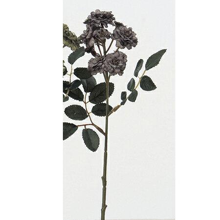 【造花】アスカ/ポンポンローズ×11 グレイ/A-31959-63|造花 バラ【01】【01】【取寄】《 造花(アーティフィシャルフラワー) 造花 花材「は行」 バラ 》