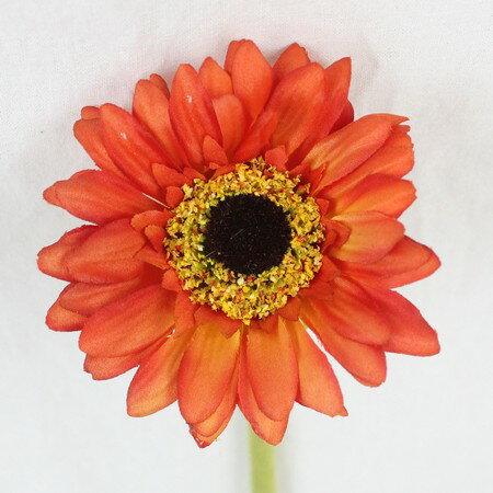 即日★【造花】FIAN/ガーベラ(S)/FM0017-OR【00】《 造花(アーティフィシャルフラワー) 造花 花材「か行」 ガーベラ 》