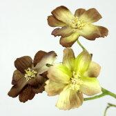 即日★【造花】FIAN/チョコレートコスモス BR/FS0019-BR【00】《 造花 コスモス》