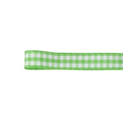青山リボン/ウーブンギンガムチェック 10X10 #005/30-432-5【01】【取寄】《 リボン パターンリボン チェック柄パターンリボン 》