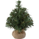 【造花】20cmバーラップツリー/CAB026【03】《花 資材 クリスマス資材特集 ツリー その他のツリー》