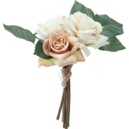 【造花】YDM/ローズバンチ*3/FB2396-CR 造花 バラ【01】【01】【取寄】《 造花(アーティフィシャルフラワー) 造花 花材「は行」 バラ 》
