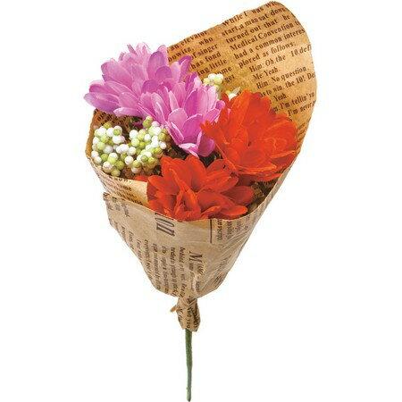 大特価◎【造花】YDM/フィンガーマムブーケ オレンジピンク/FBC8043-O/P【01】【01】【取寄】《 造花(アーティフィシャルフラワー) 造花 花材「か行」 キク(菊)・ピンポンマム 》