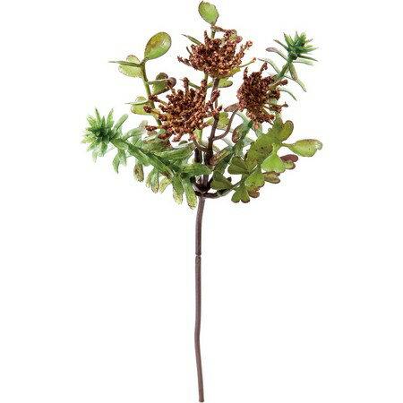 大特価◎【造花】YDM/ブラッシュレースグリーンピック グリーン/FG4638-GR【01】【取寄】《 造花(アーティフィシャルフラワー) 造花葉物、フェイクグリーン その他の造花葉物・フェイクグリーン 》