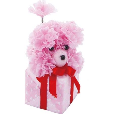 大特価◎【造花】YDM/ギフトボックスプードル LTP /SPDD-0121【01】【取寄】《 造花(アーティフィシャルフラワー) 造花ギフト フラワーアレンジ 》