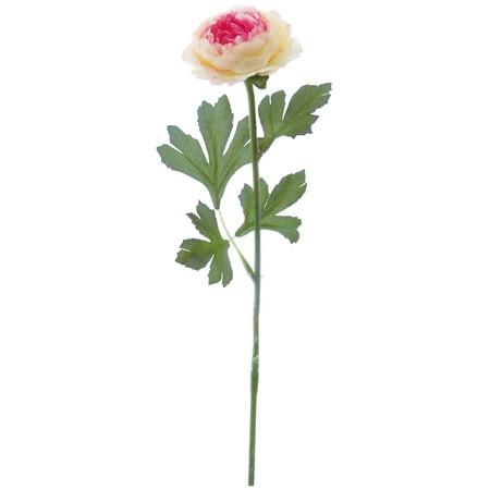 【造花】YDM/ラナンキュラス クリームピンク/FA6741-CRP【01】【取寄】《 造花(アーティフィシャルフラワー) 造花 花材「ら行」 ラナンキュラス 》