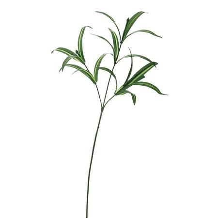 即日★【造花】YDM/ドラセナリーフスプレー ダークグリーン/FG4471-DGR【00】《 造花(アーティフィシャルフラワー) 造花葉物、フェイクグリーン その他の造花葉物・フェイクグリーン 》