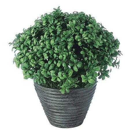 【直送】【人工観葉植物】タマツゲ (PラウンドL(BK))/91521【07】《 造花 人工樹木・観葉植物 サ〜ソ その他 》