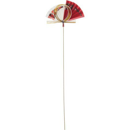 水引扇 R/NIID003【01】【取寄】《 花資材・道具 フラワーピック 和風ピック 》