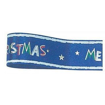 青山リボン/トイクリスマス 19X25 #022/30-3422-22【01】【取寄】《 リボン シーズナルリボン クリスマスリボン 》