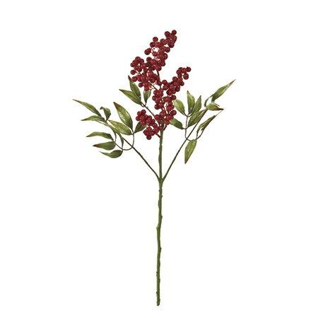 《10%OFFセール》【造花】MAGIQ(東京堂)/万葉南天 小 RED /FJ005352《 造花(アーティフィシャルフラワー) 造花実物、フェイクフルーツ ナンテン 》