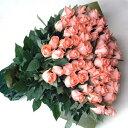 ピンクのバラの花束 1本