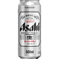 アサヒ スーパードライ 500ml ケース(24...の商品画像