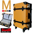 即納 【あす楽】【Dandanplus】僕のトランク キャリー Mサイズ 19インチ 全4色 スーツケース 旅行鞄 4輪タイプ ダイヤルロック コンビカラー ツートーン 10P01Oct16