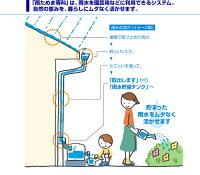 <送料無料>Panasonic雨水貯水タンク『レインセラー200+一般たてとい接続キット』パナソニックの雨水タンク節水でエコ(Eco)な商品です!