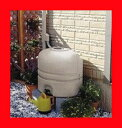 【楽天最安値挑戦】Panasonic MQW102 小型雨水貯水タンク『雨ためま専科110本体+一般たてとい接続キット』パナソニック電工のミニ雨水タンク110L 小さくて節水でエコ(Eco)!家庭用ガーデニングやフーデニング】